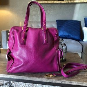 Marc Jacobs Leather Bowler Bag Purse. Like new!